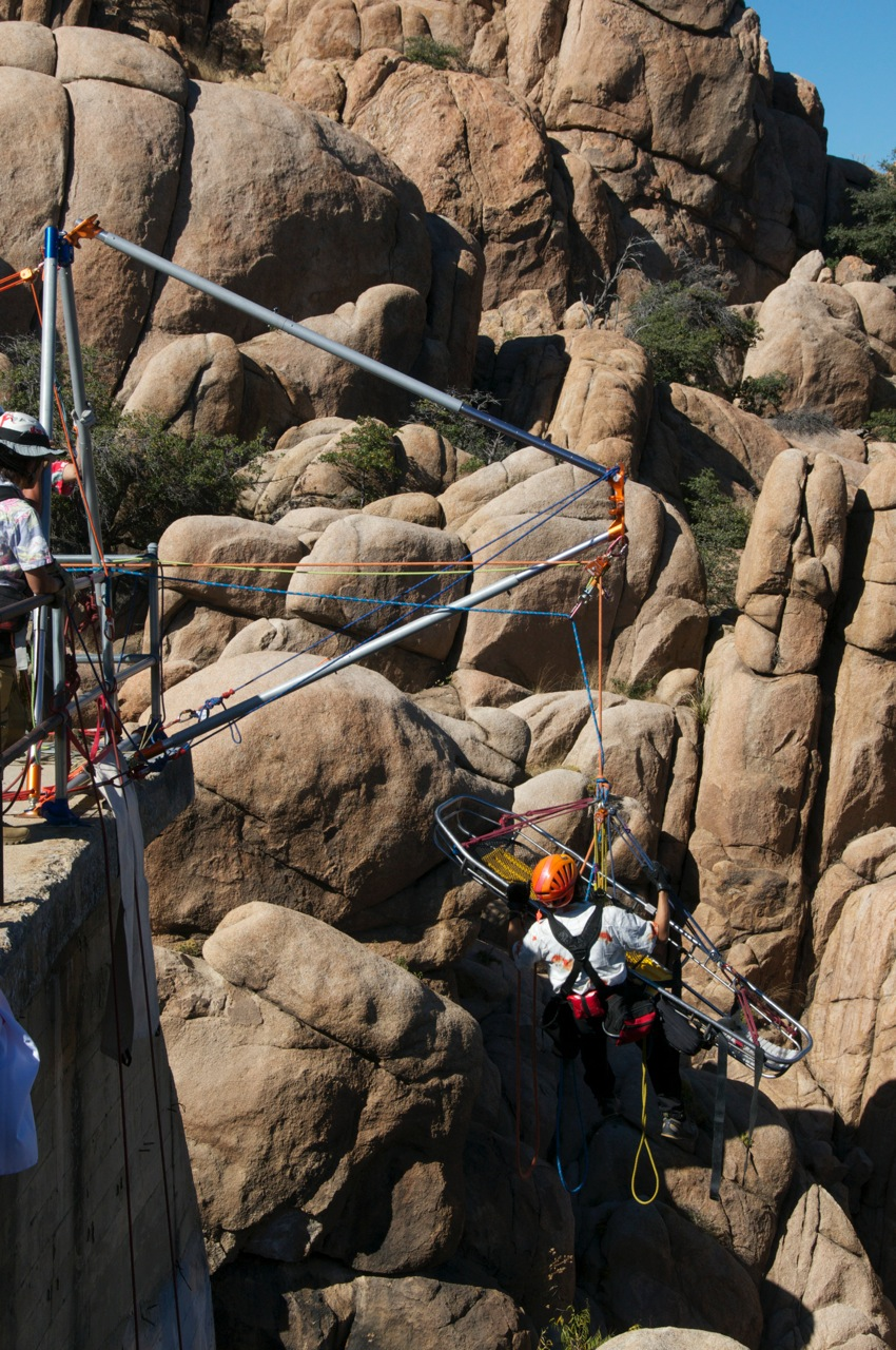Arizona Vortex Rock Exotica Work And Rescue Tri Pod