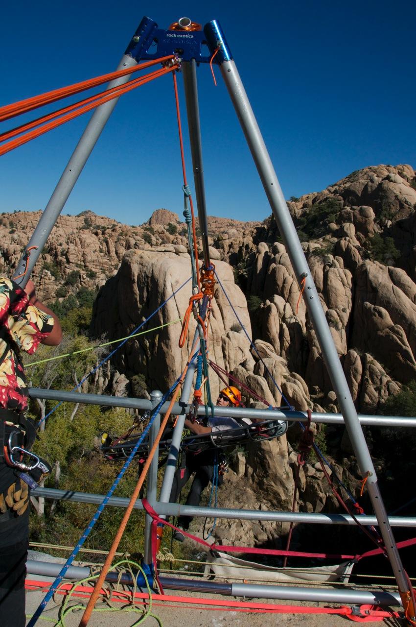 Arizona Vortex Rock Exotica Work And Rescue Tri Pod