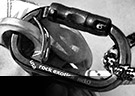 Wire-eye carabiner attached to swivel top