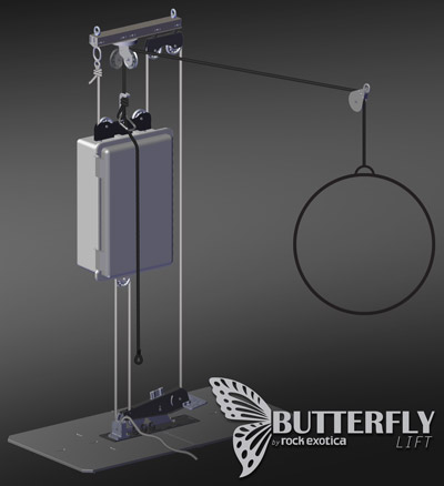 Performer Flying: Butterfly Lift