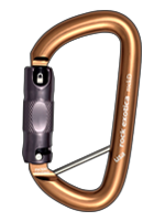Lanyard Pin carabiner, with removable steel pin