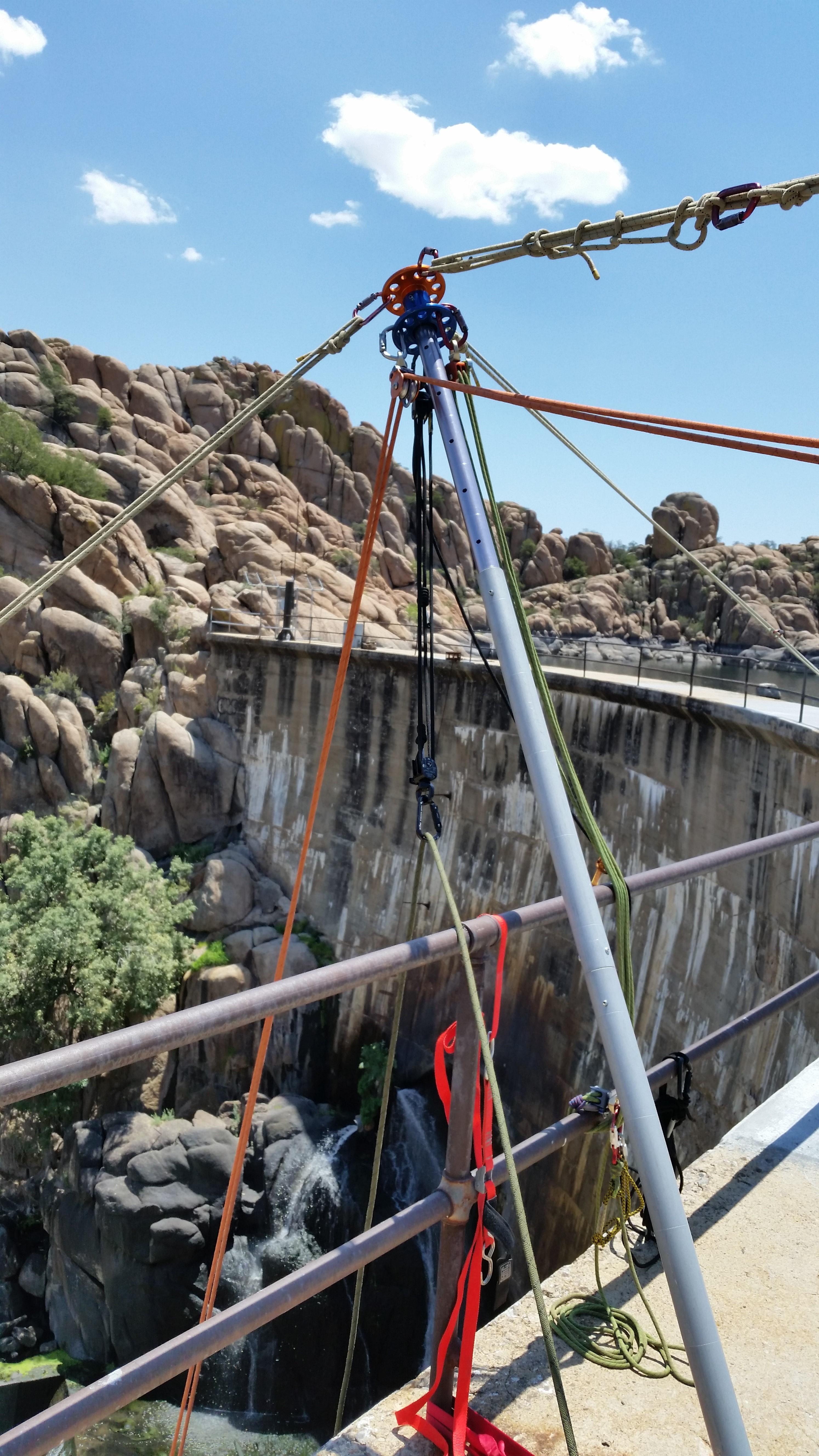 Arizona Vortex | Rock Exotica work and rescue tri-pod / multi-pod